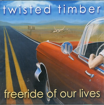 Twisted Timber - Freeride Of Our Lives CD