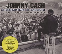 Johnny Cash - Folsom Prison/At San Quentin 2CD